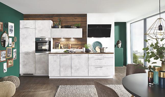 Nobilia Musterküche Einbauküche inkl aller E Geräte, Lieferung und Montage Ausstellungsküche