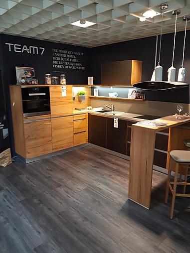 Team 7 Musterkuche Vollholzkuche Im Modernen Landhausstil