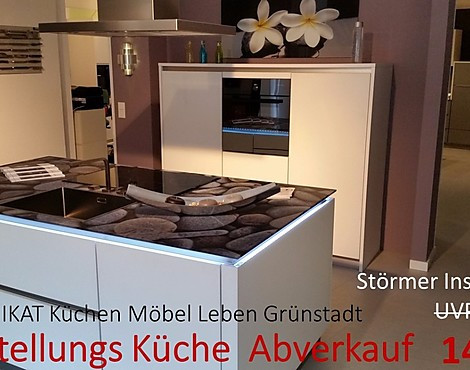musterk chen b rse grifflose k chen im abverkauf. Black Bedroom Furniture Sets. Home Design Ideas