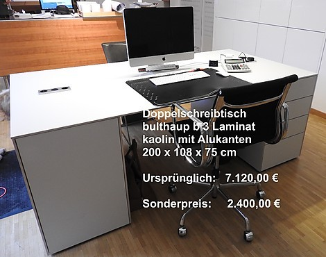 musterk chen von bulthaup angebots bersicht g nstiger. Black Bedroom Furniture Sets. Home Design Ideas