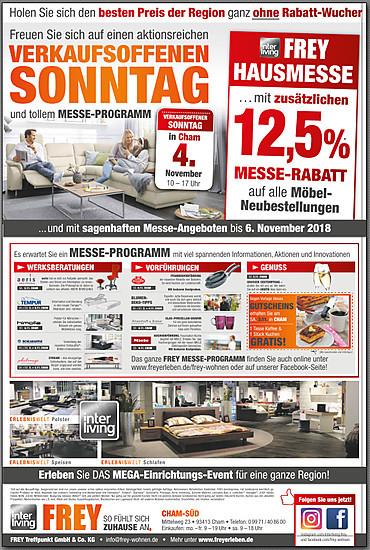 Verkaufsoffener Sonntag Cham