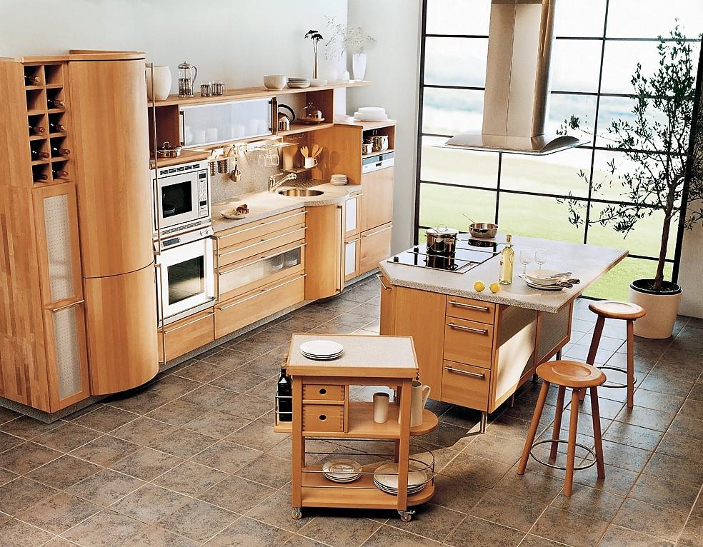 inselk che rondo in buche mit gerundeten elementen. Black Bedroom Furniture Sets. Home Design Ideas