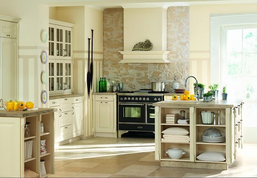 Landelijk Keuken Behang : Landhausküchen Küchenbilder in der Küchengalerie (Seite 7)