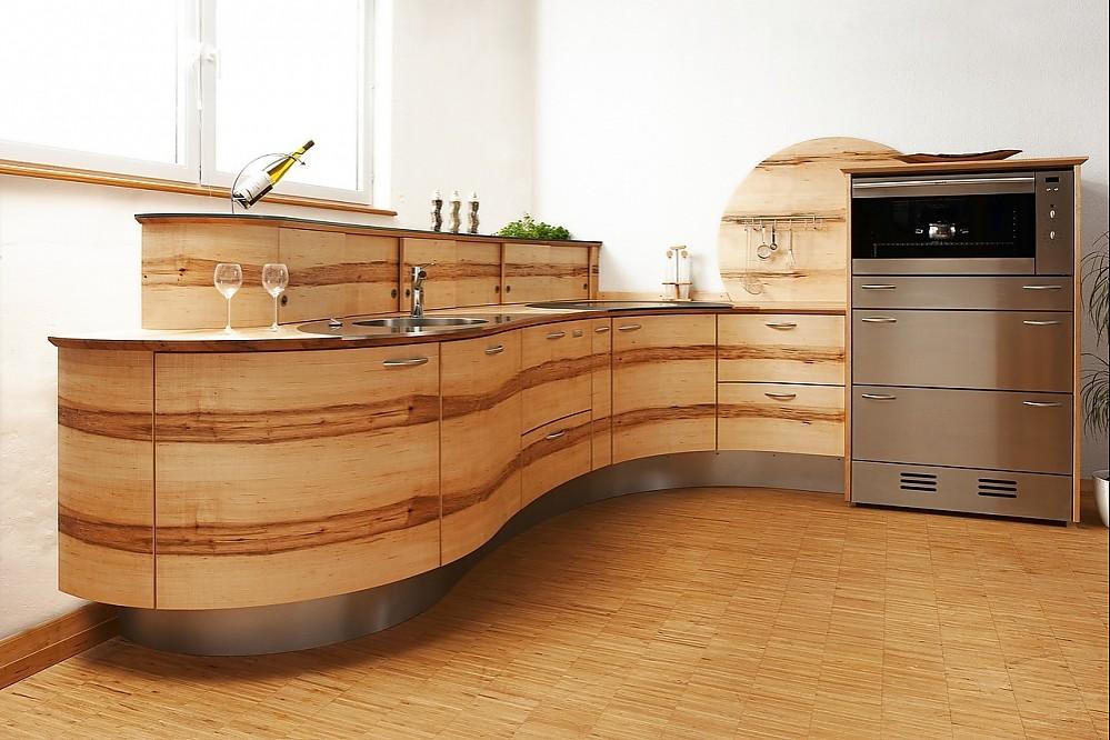 Runde Küche Modell Welle