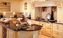 Landhausküchen englischen stil  Englische Landhausküche Notingham mit Insel in Creme