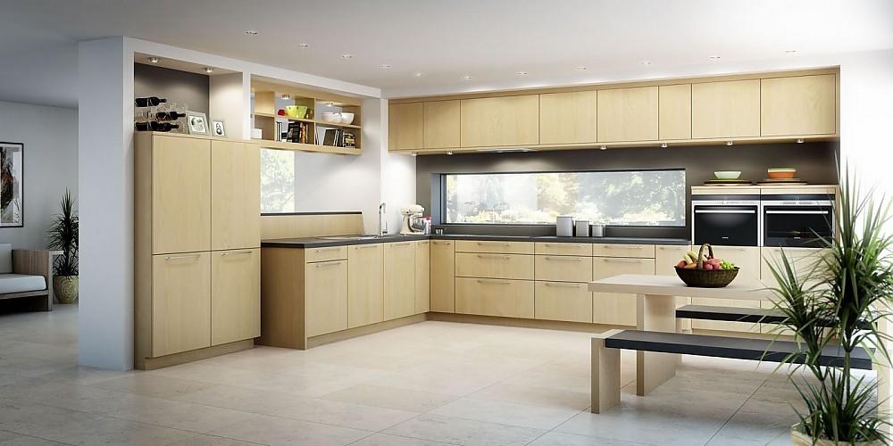 Rempp Küchen ligno elsbeerfarben