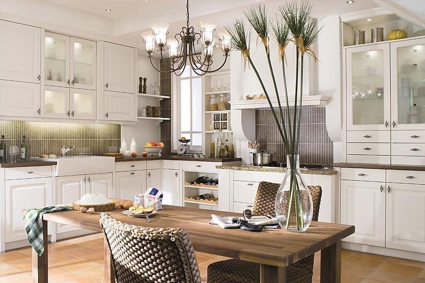 Landhausküchen: Küchenbilder in der Küchengalerie | {Küchen landhausstil grau 10}