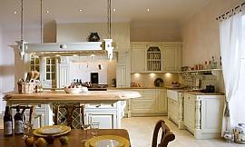 Landhausküchen englischen stil  Englische Landhausküche Camebridge mit Insel in Creme