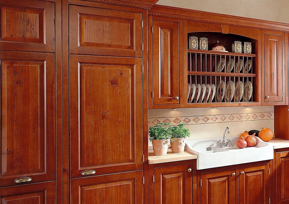 Massivholz-Kücheninsel