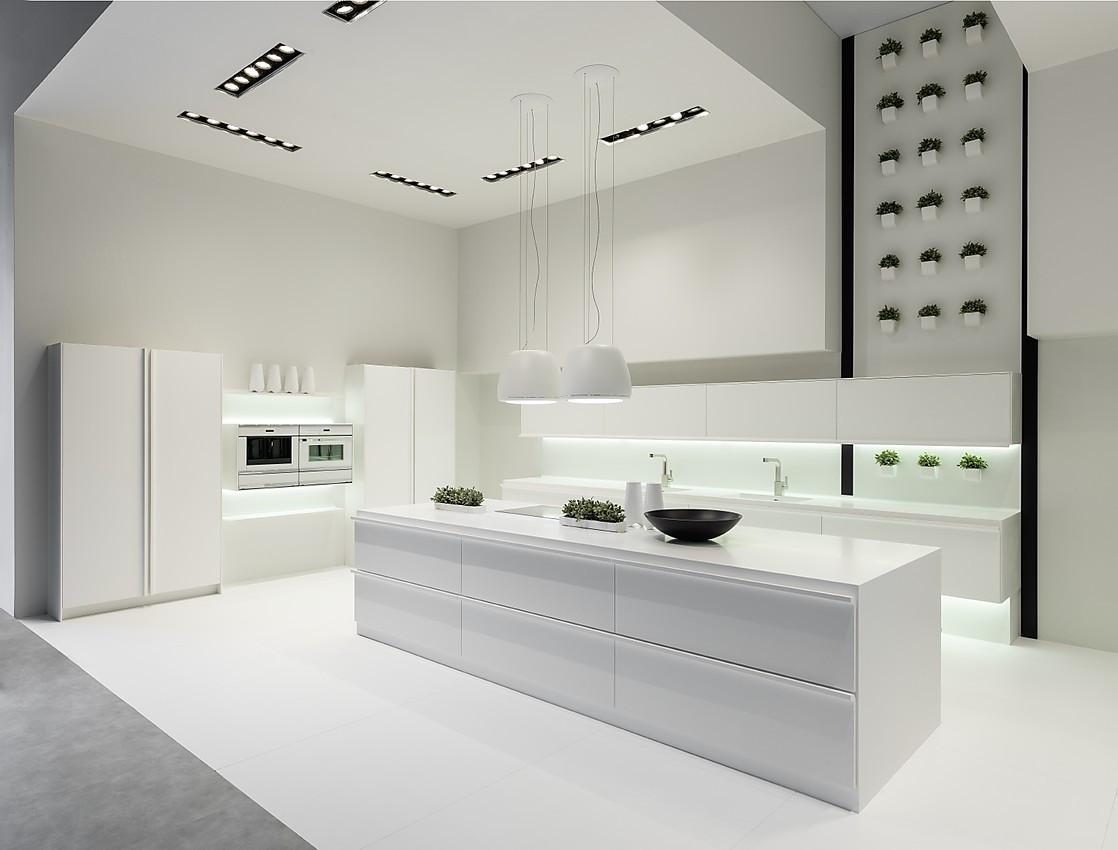 Designerküche mit Insel