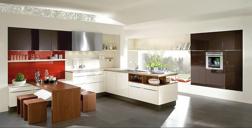 Küche In G-form Inspirationen : Stil Design-Küchen, Planungsart L ...