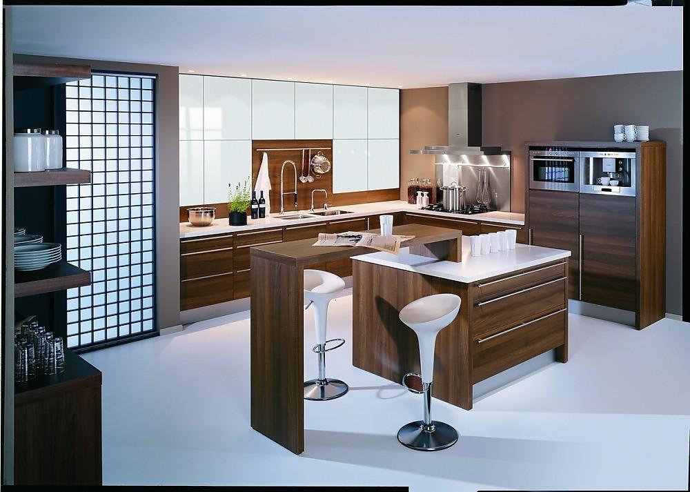 Kunststoff Küche classicline nusstabac kunststoff