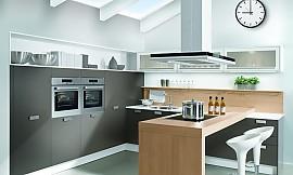 Dachgeschoss Küche moderne u form küche