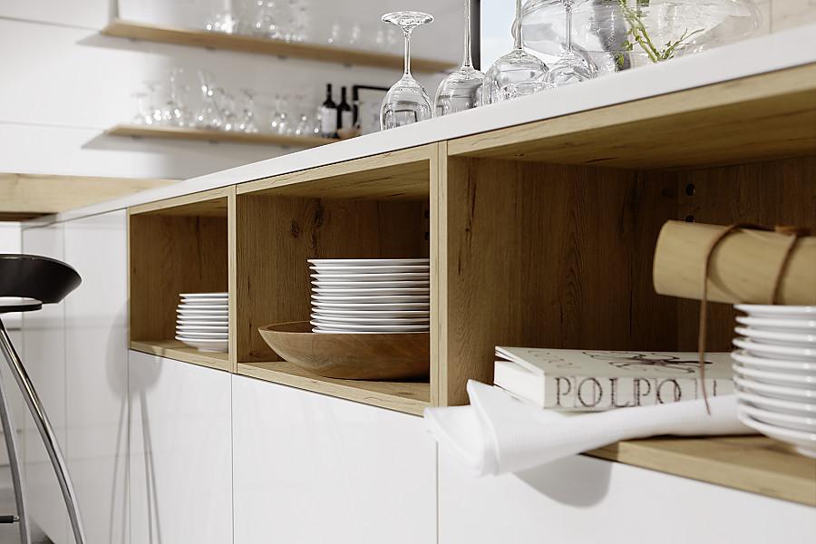 planungsdetail offene regale zwischen unterschr nken und arbeitsplatte. Black Bedroom Furniture Sets. Home Design Ideas