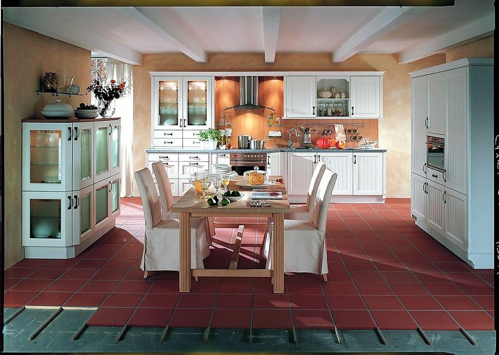 Super Cottage-Küche in Weiß XW73