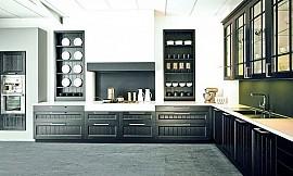 moderne landhausk che casale in r uchereiche. Black Bedroom Furniture Sets. Home Design Ideas