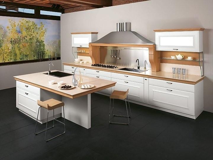 Küche Weiß Arbeitsplatte Holz Vd19 – Hitoiro