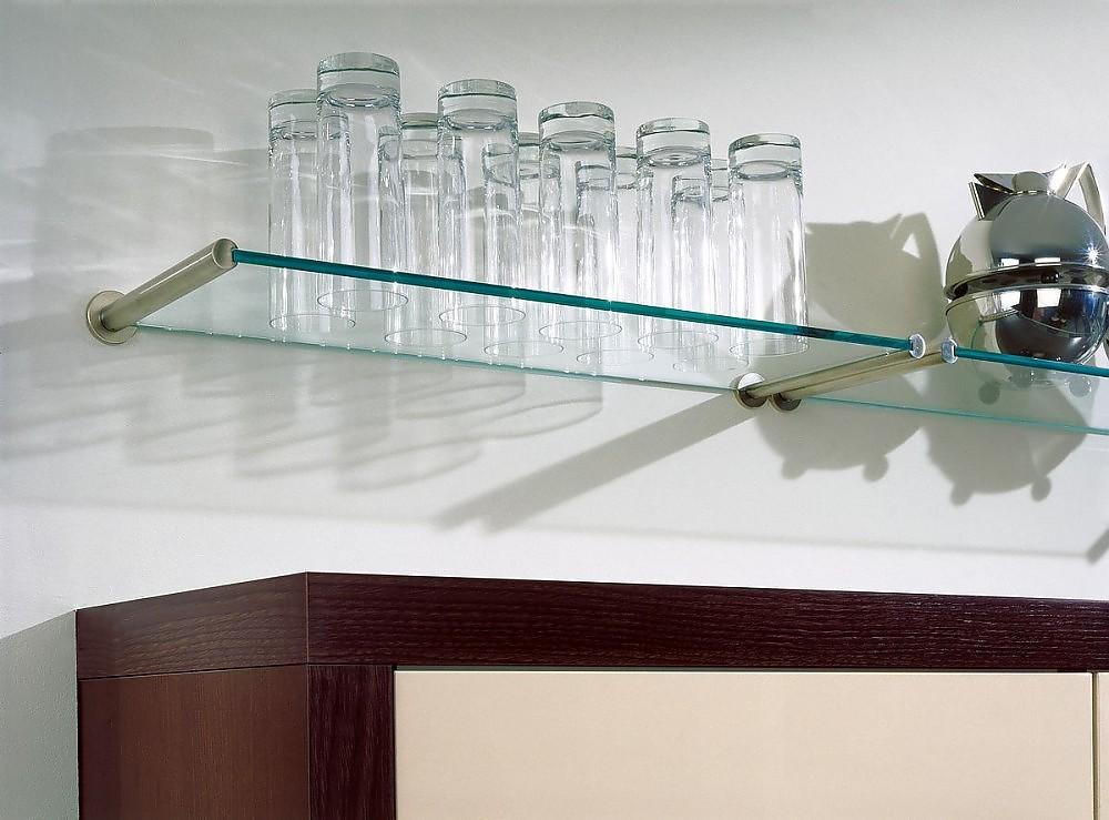 Tablarträger aus Glas