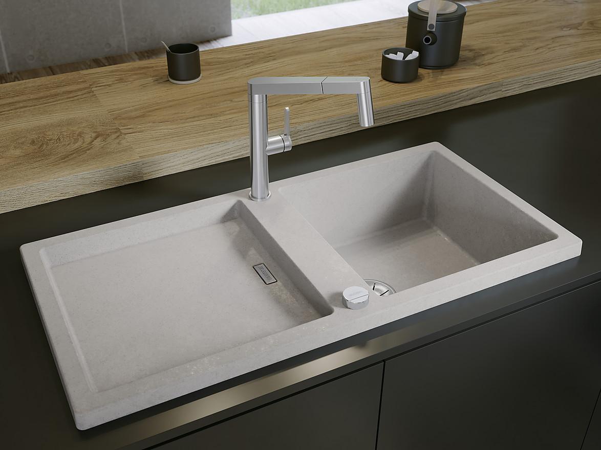 Spülen und Armaturen: Das große KüchenAtlas Extra zur Küchenspüle