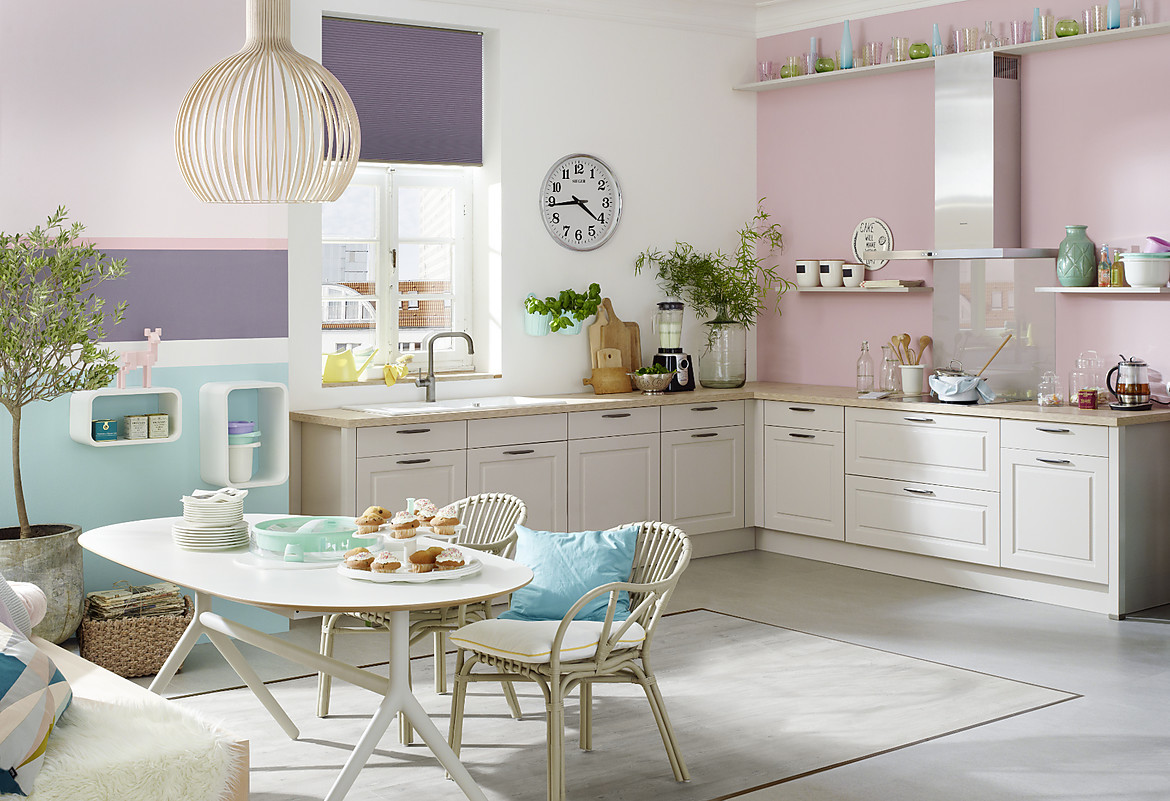Beautiful shabby chic kuchen contemporary house design for Küche shabby chic