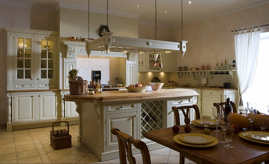 Long Kitchen Island With Stove