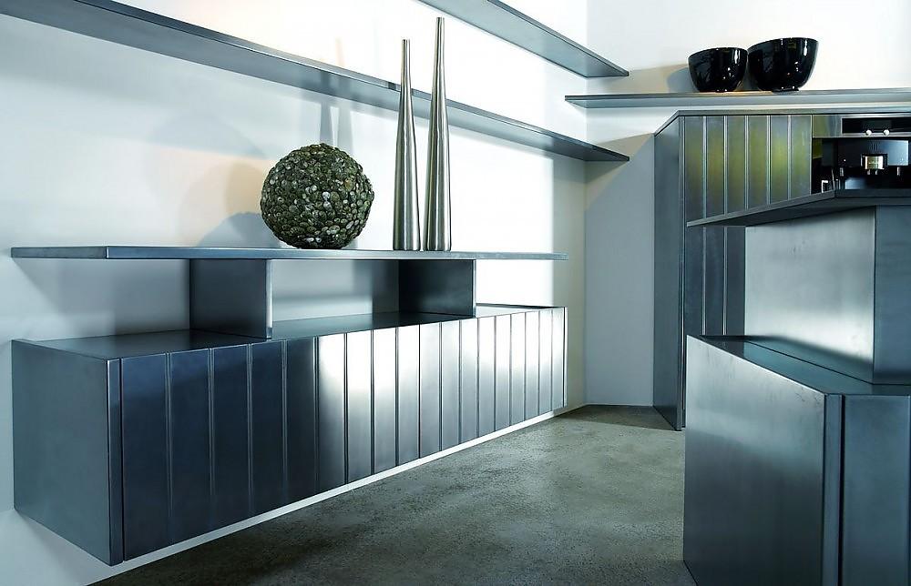 Eggersmann Küchen l form küche provence handgewischt mit strichlack türen mit