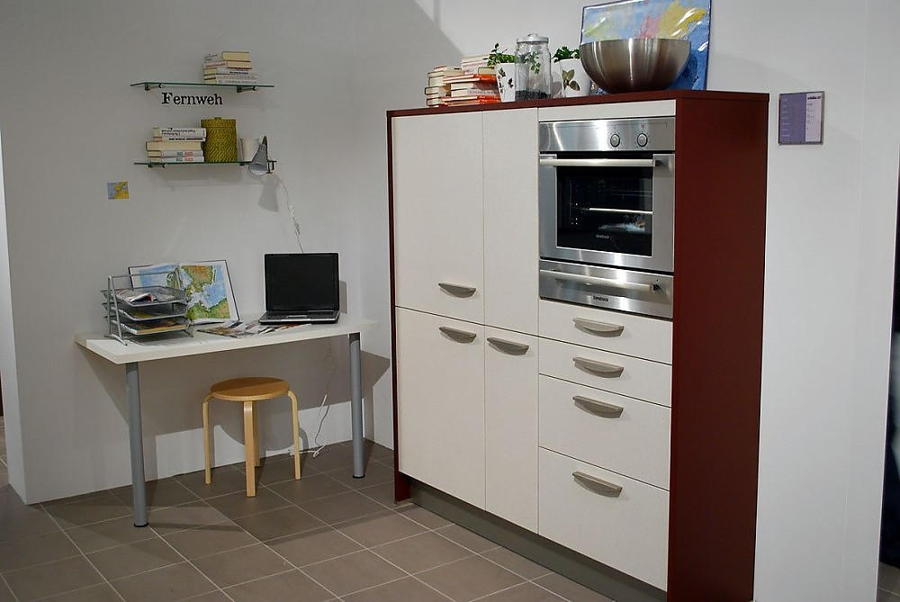arbeitsplatz in der k che. Black Bedroom Furniture Sets. Home Design Ideas