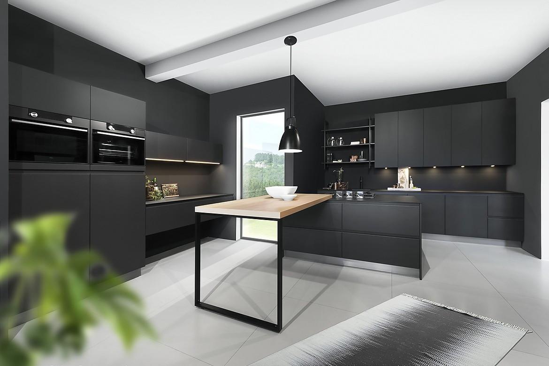 designerk che grifflos in schwarz. Black Bedroom Furniture Sets. Home Design Ideas