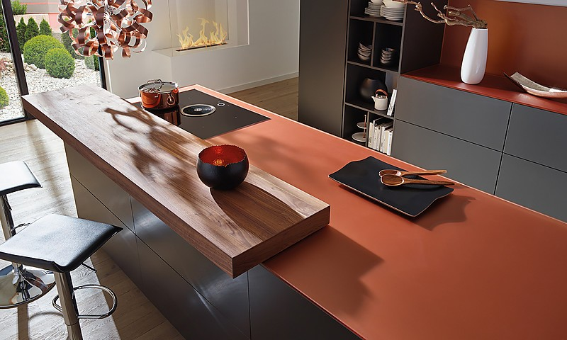 Glasarbeitsplatten für die Küche | Arbeitsplatten bei KüchenAtlas | {Arbeitsplatte glas 13}