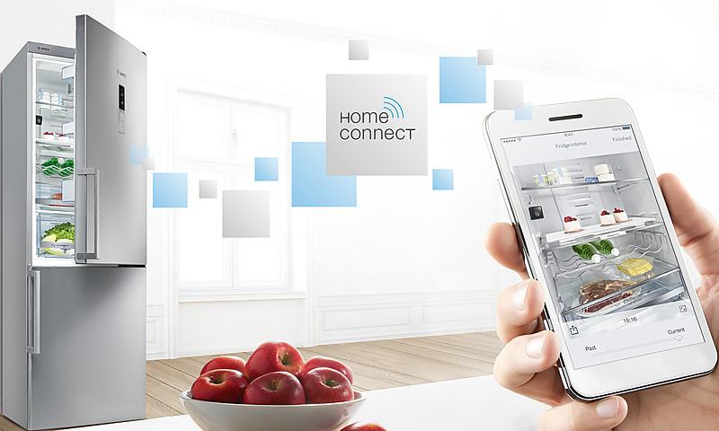 Bosch Kühlschrank Mit Kamera : Bosch vernetzter haushalt dank home connect