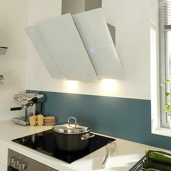 Einbauküche Mit Glaskeramik Kochfeld Und Kopffreihaube