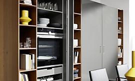grifflos geplantes k chen sideboard mit farbverlauf. Black Bedroom Furniture Sets. Home Design Ideas