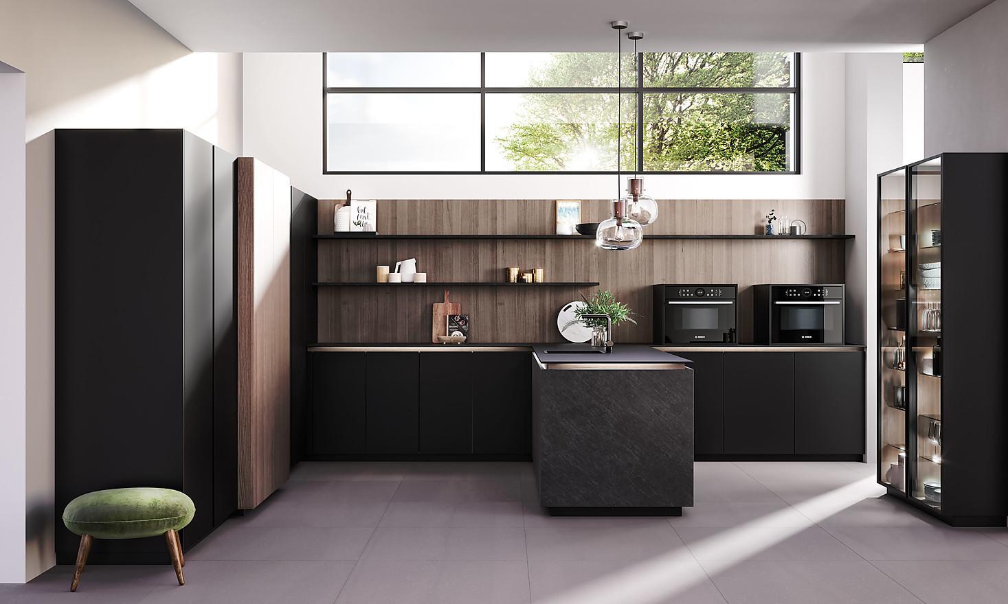 Schwarze Küchen - Darauf müssen Sie achten!