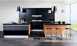 team 7 k chen k chenbilder in der k chengalerie. Black Bedroom Furniture Sets. Home Design Ideas
