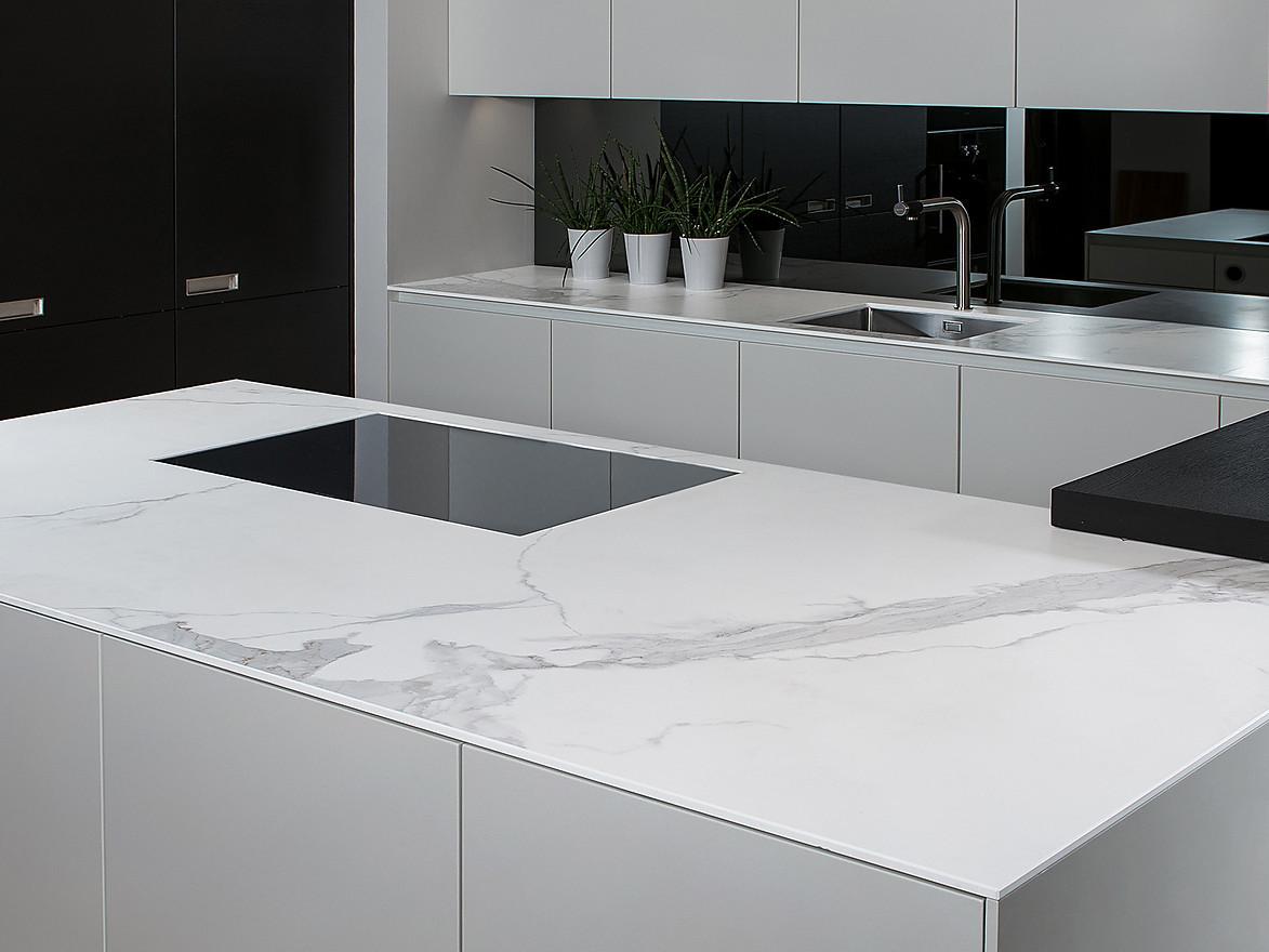 Keramikarbeitsplatten: Das große KüchenAtlas Arbeitsplatten-Extra