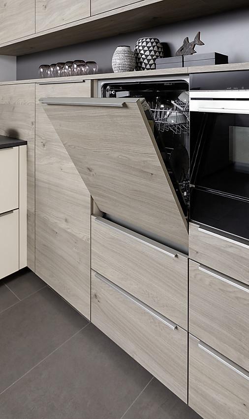 hochgebauter geschirrspüler im seitenschrank mit 1 m höhe - Seitenschrank Küche