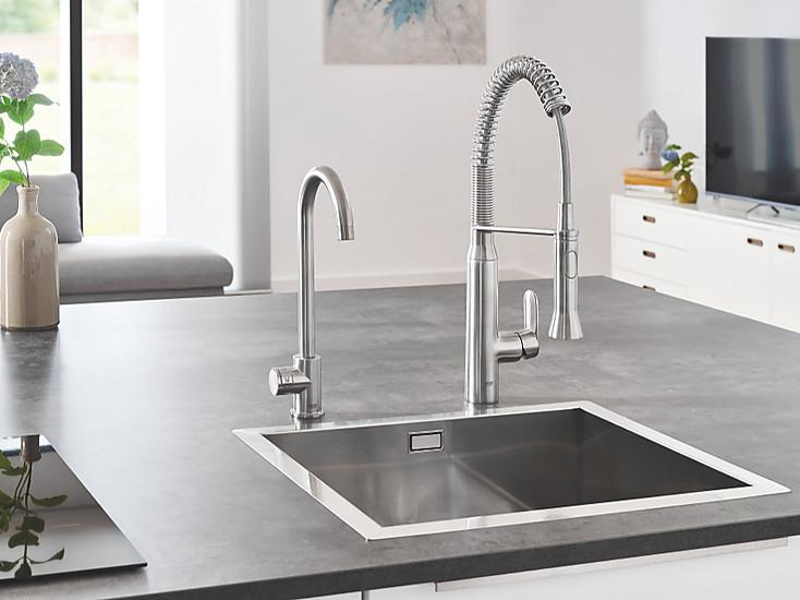 Grohe Blue Home Wassersystem Frisches Wasser Aus Der Armatur