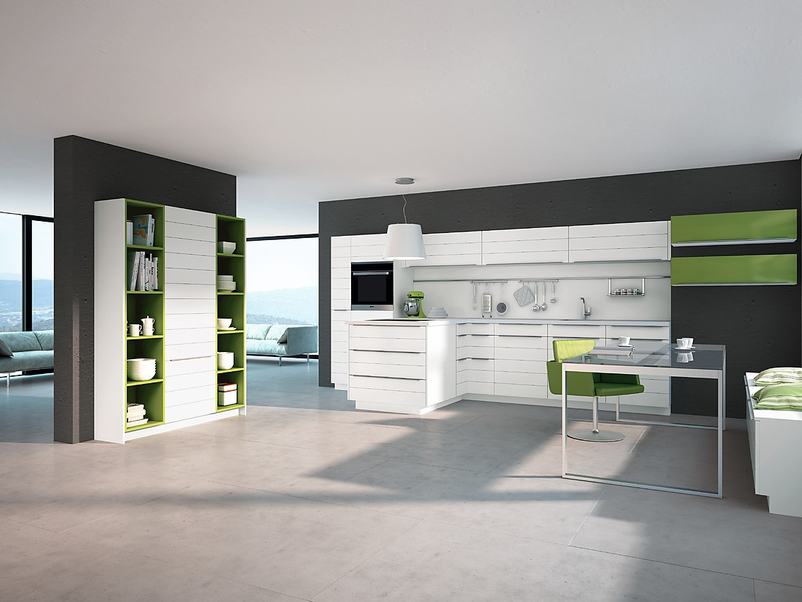 antwerpen wei e k che mit mattlack fronten in paneeloptik. Black Bedroom Furniture Sets. Home Design Ideas
