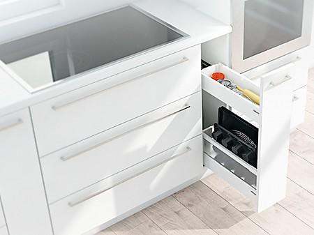 stauraum optimal nutzen ergonomie in der k che. Black Bedroom Furniture Sets. Home Design Ideas