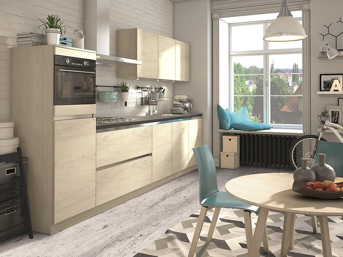 Kleine Küche: Küchenzeile \