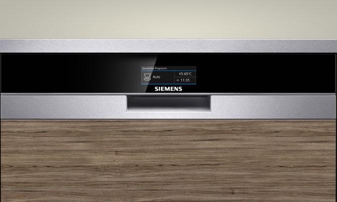 Vernetzte Haushaltsgeräte von Siemens ~ Geschirrspülmaschine Zeolith