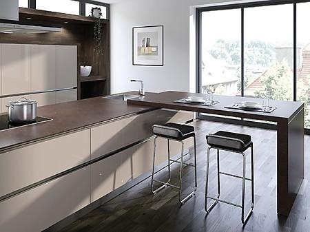 die k chenarbeitsplatte als theke bar oder tisch. Black Bedroom Furniture Sets. Home Design Ideas