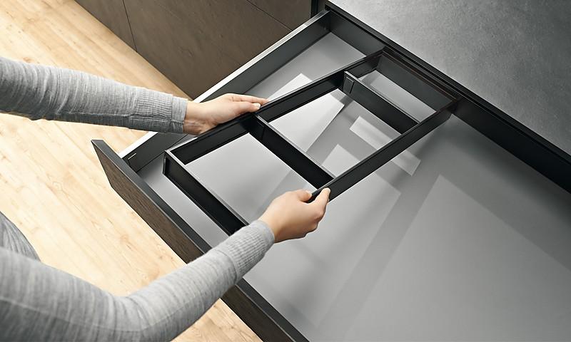 Innenausstattung von Blum | Ordnung für Ihre Schubladen