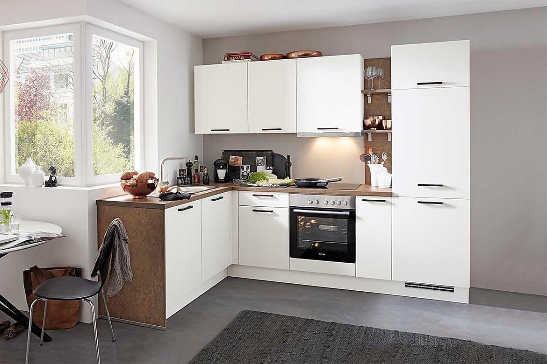 L-Küche Laser Weiß