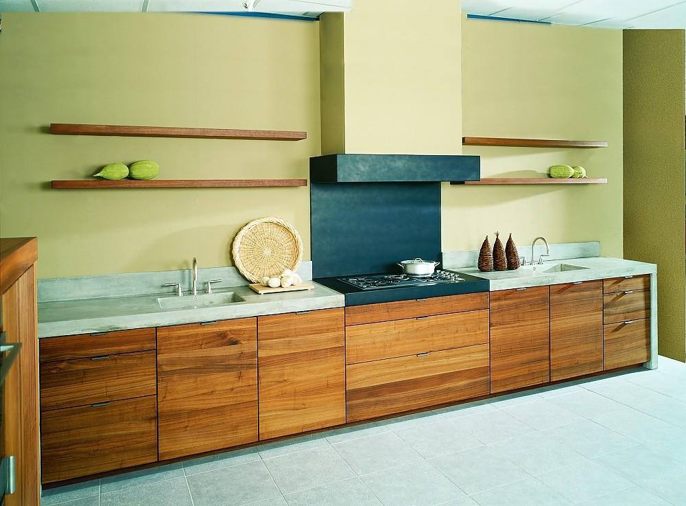 helle holzk che franka. Black Bedroom Furniture Sets. Home Design Ideas