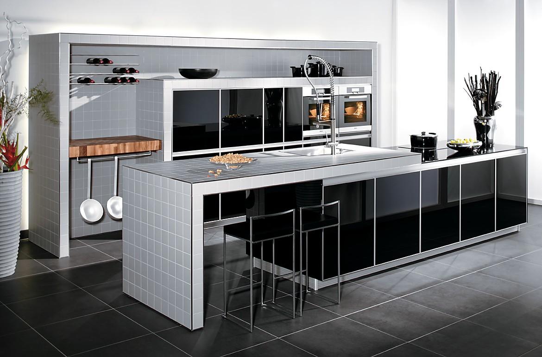 glask che in schwarz. Black Bedroom Furniture Sets. Home Design Ideas