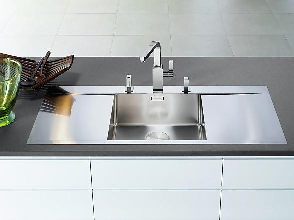 Waschbecken küche edelstahl  Spülbecken: Formen und praktische Funktionen