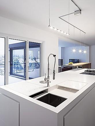 Spülbecken küche  Spülbecken: Formen und praktische Funktionen