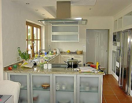 inselküche mit granitarbeitsplatte - Pflege Granit Arbeitsplatte Küche
