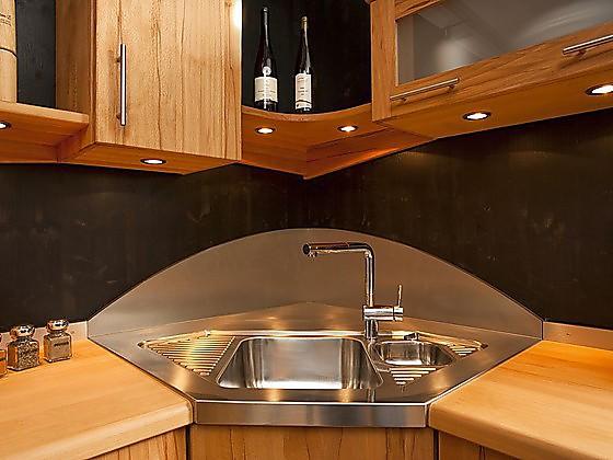 Eckwaschbecken küche  Spülbecken: Formen und praktische Funktionen